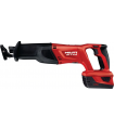 Hilti 22V Cordless Reciprocating Saw For Heavy-Duty Demolition, Featuring a Keyless Blade Clamp